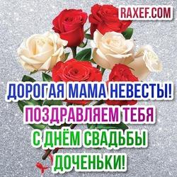 Поздравления маме невесты! С днём свадьбы дочери! Дорогая мама невесты, поздравления прими!
