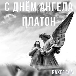 С днем Ангела Платон, Платоша (открытка, картинка, поздравление)