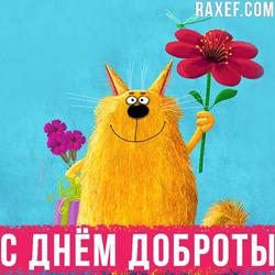 Картинка с днем Доброты! Скачать бесплатно!