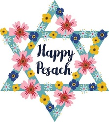 Счастливого Песаха! Красивая открытка на английском языке!